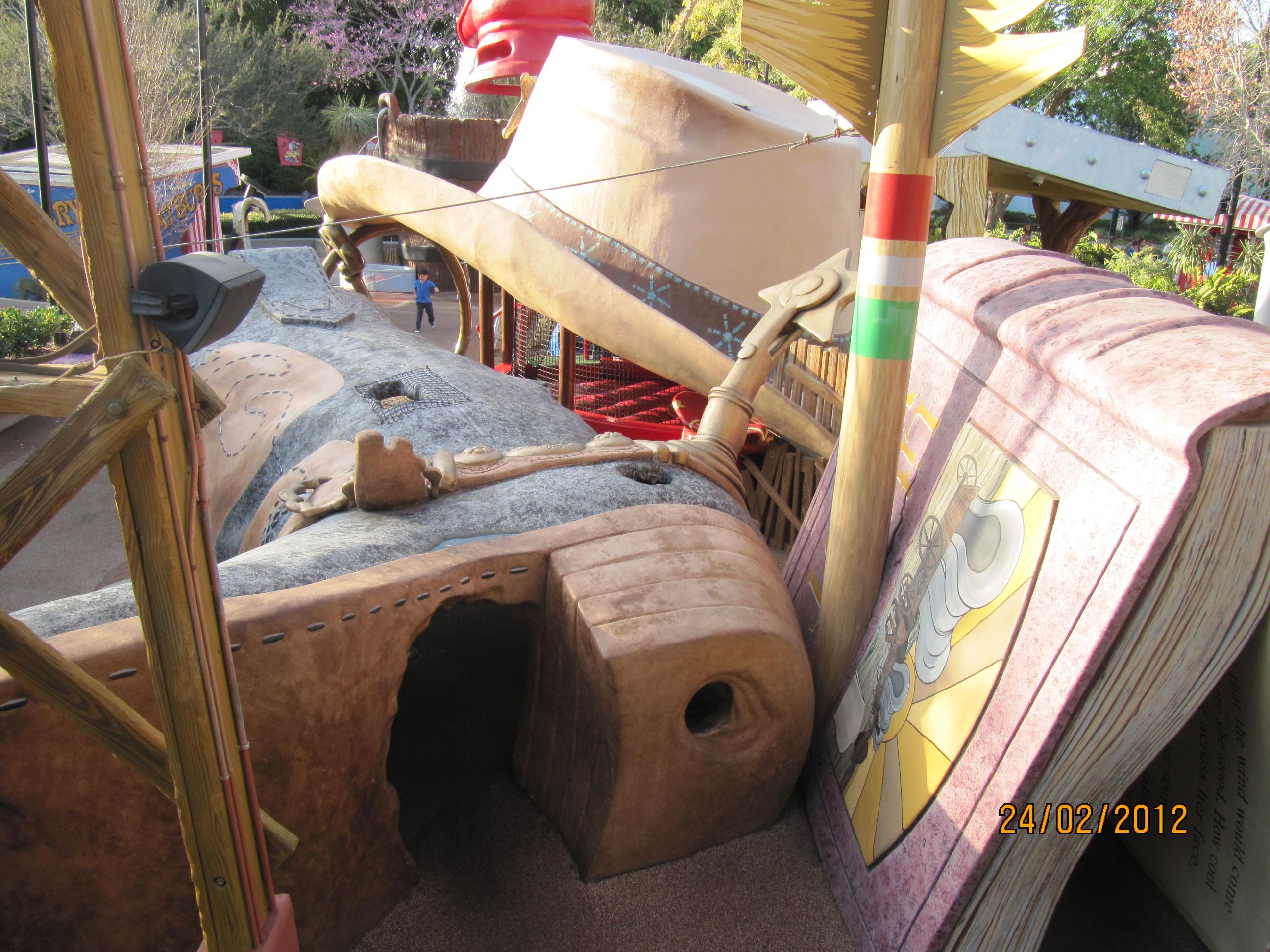 Área Woody Woodpecker's (Universal Studios)