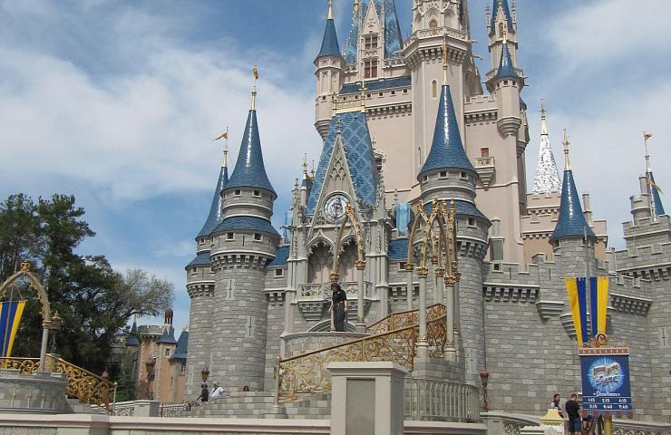 Cartão postal de Orlando: o Castelo da Cinderela no Magic Kingdom