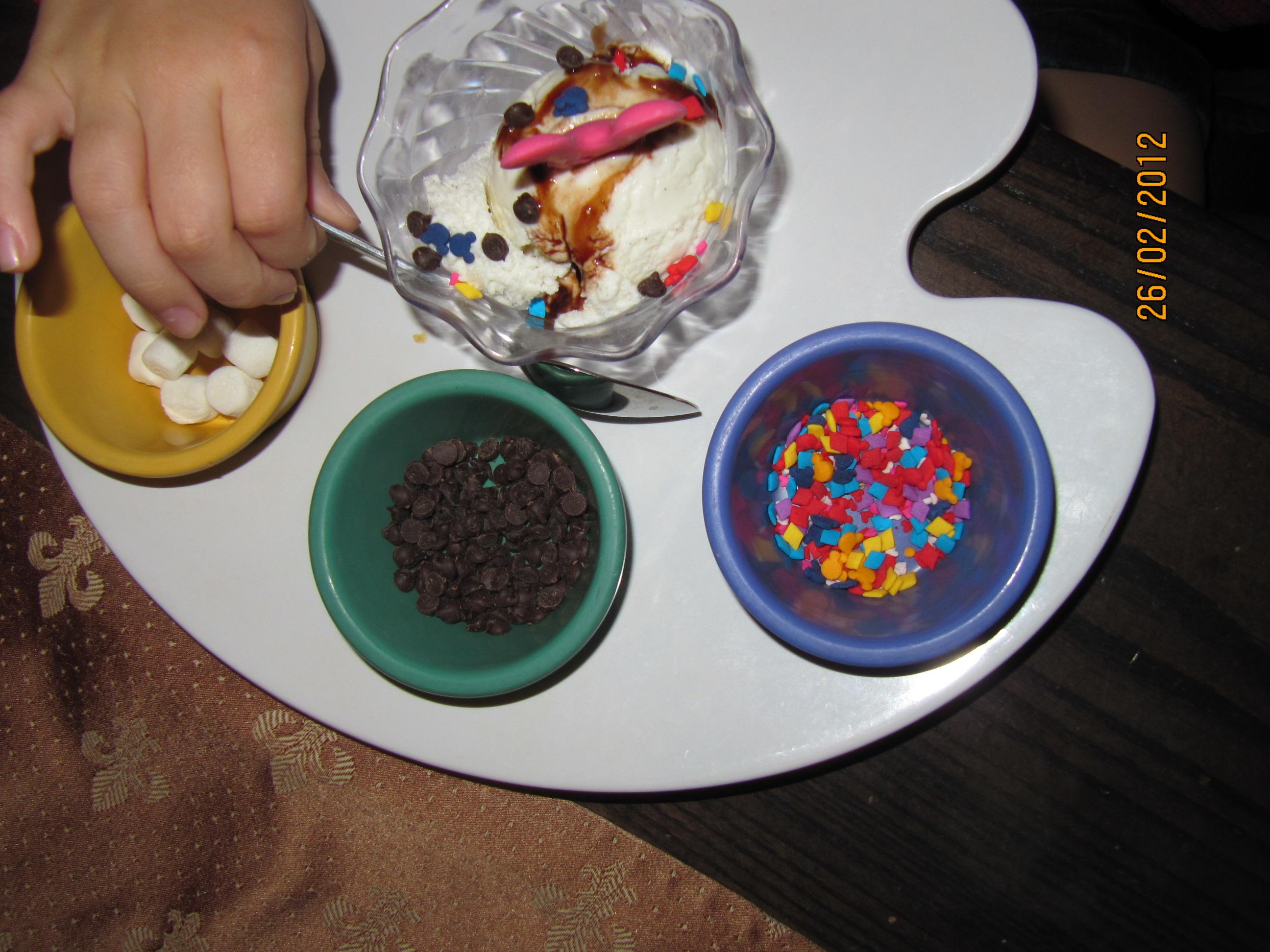 Jantar das princesas - sobremesa