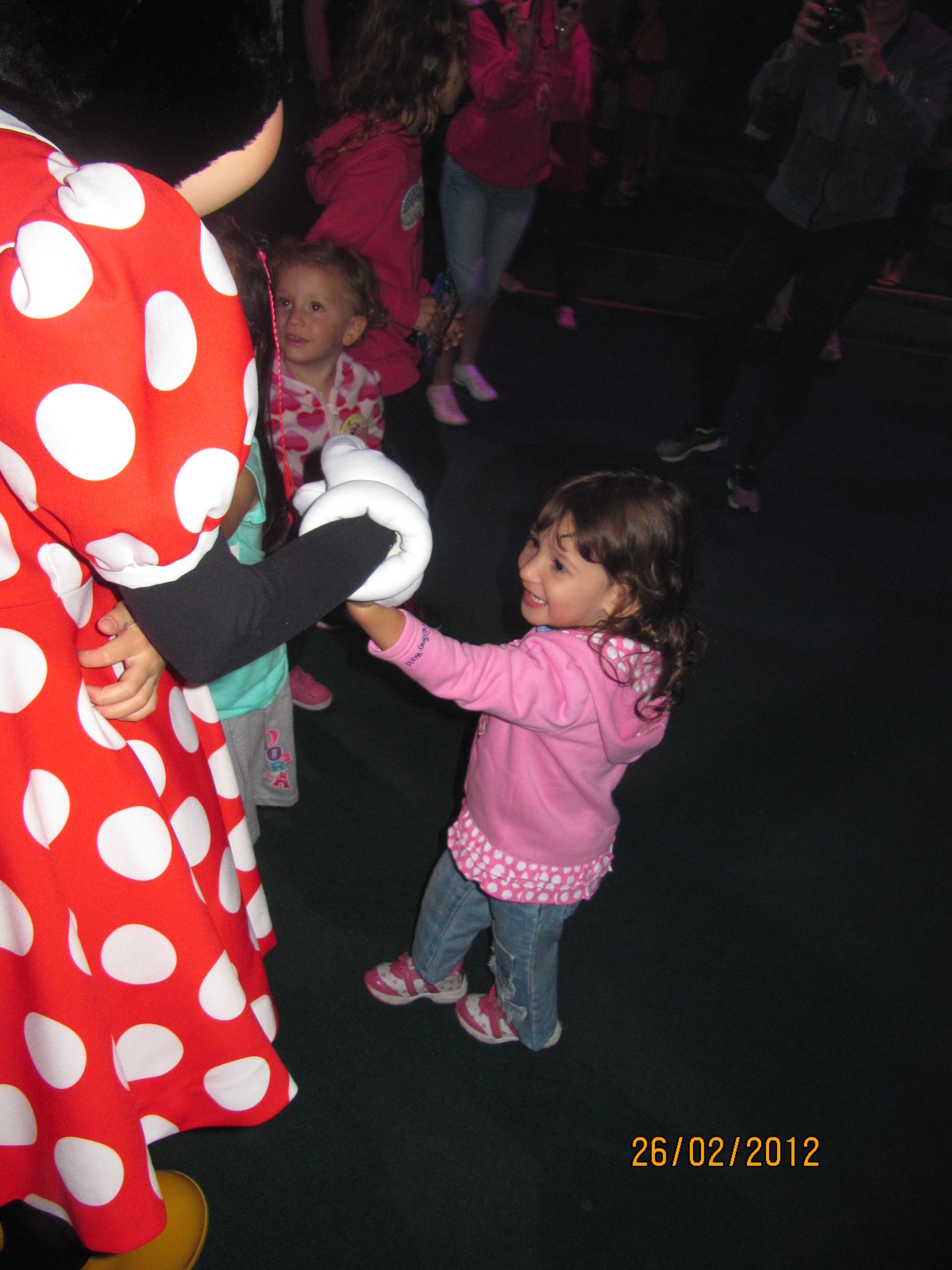 Dançando com a Minnie