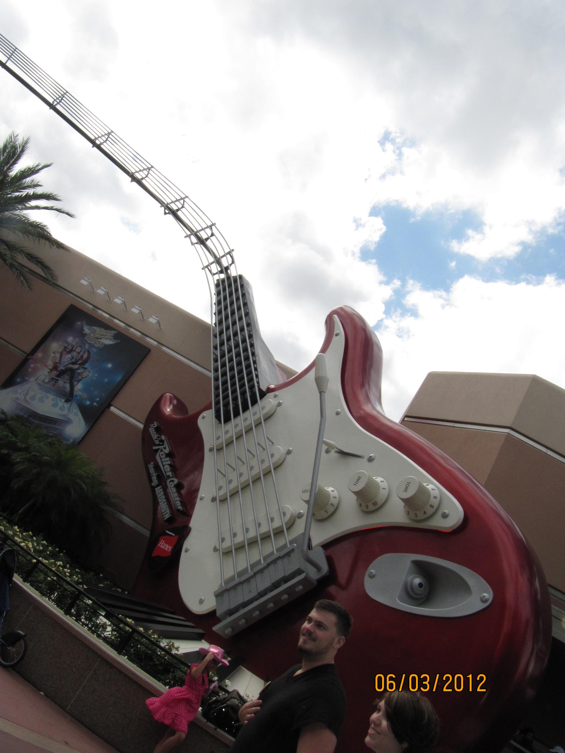 """Guitarrão"" Rock'n'Roller Coaster Starring Aerosmith (Hollywood Studios)"