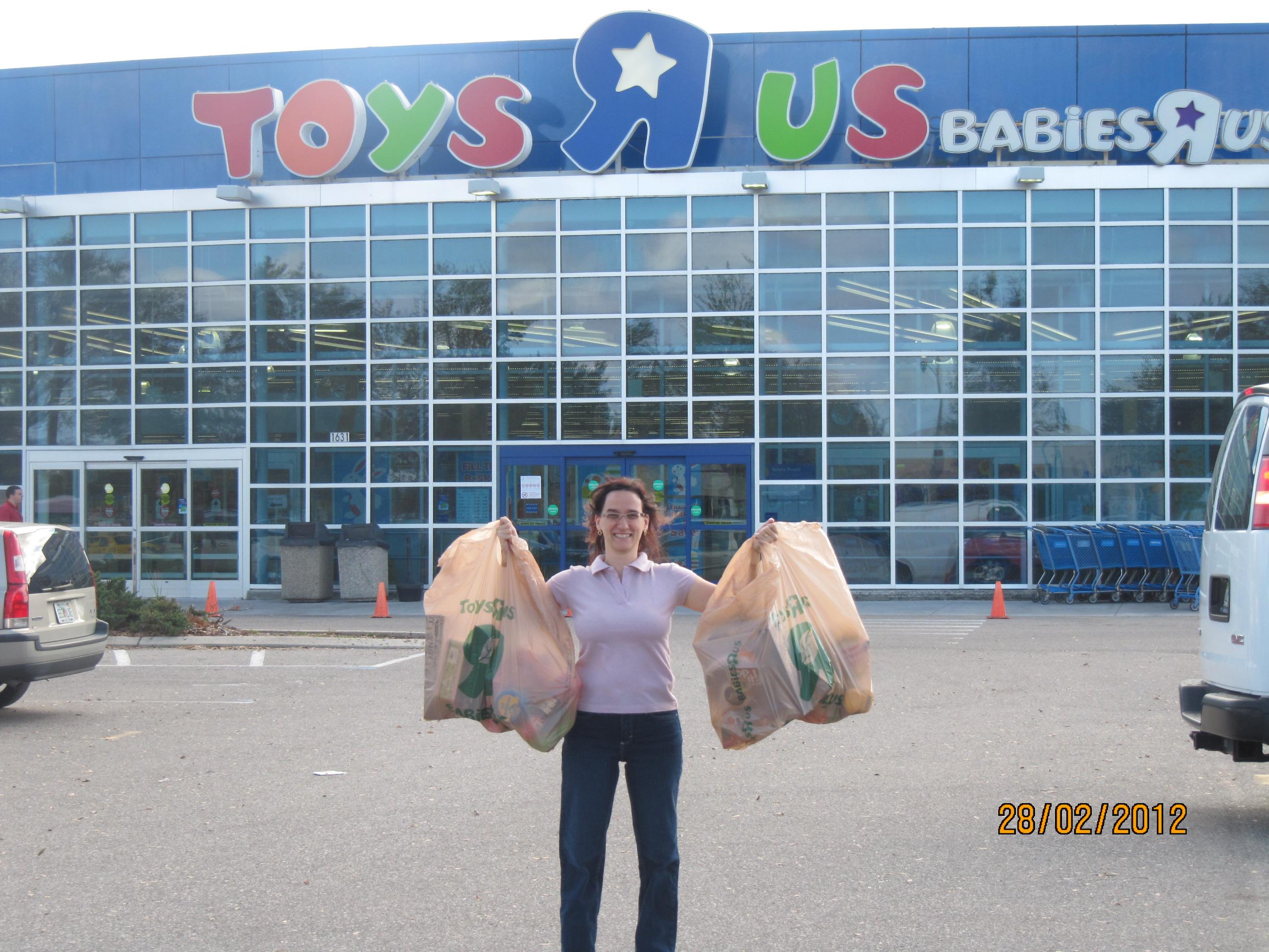 Toys R Us - o paraíso dos brinquedos!
