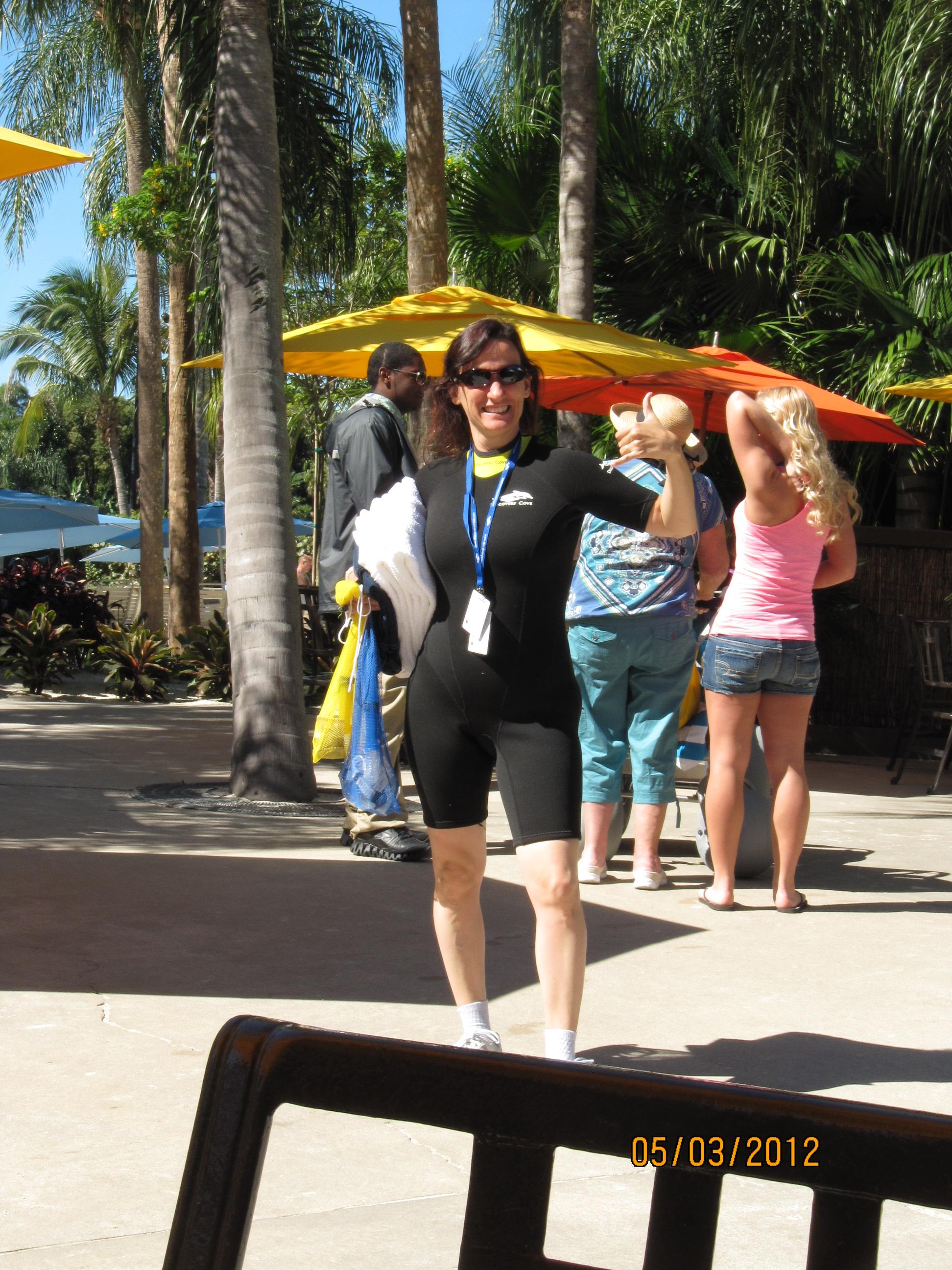 Tirando onda de surfista :)