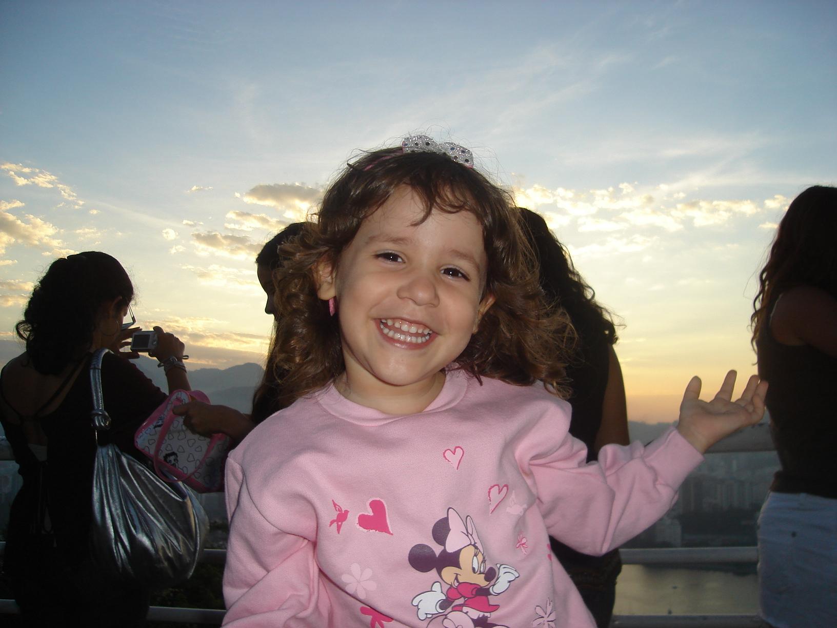 Amanda em 2008 - 3 anos
