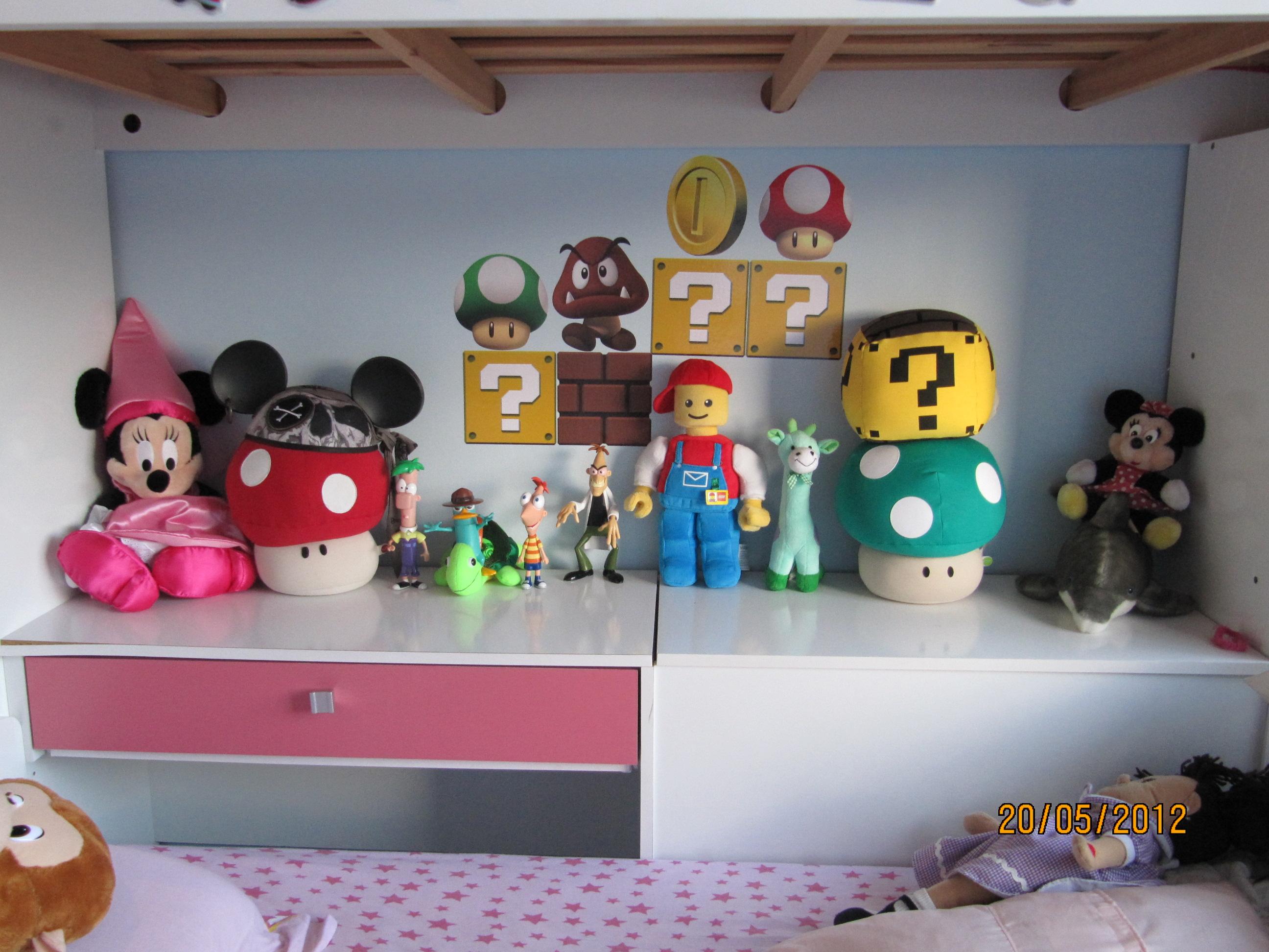 Decoração Mario Bros - O resultado final!
