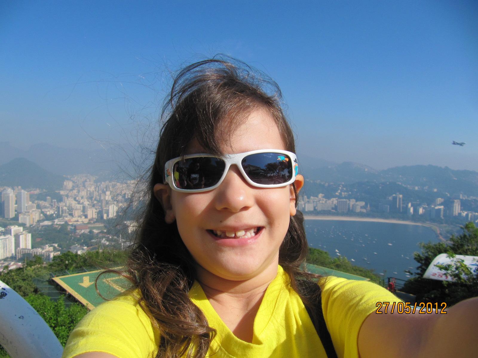 Autofoto da Amanda em 2012 - 7 anos