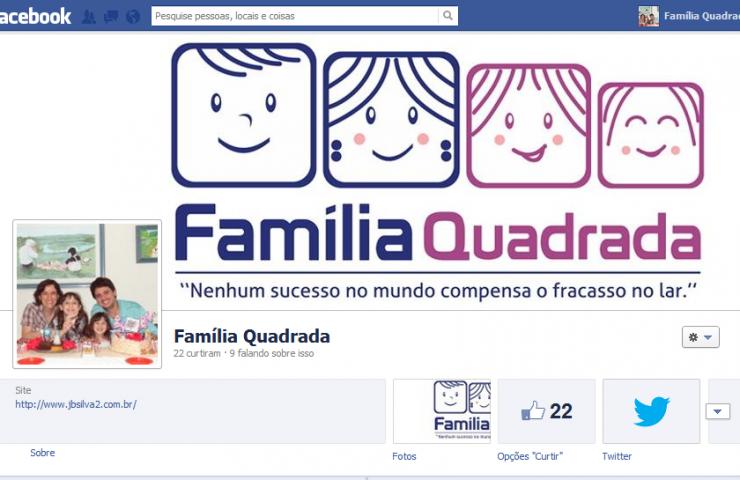 Família Quadrada no Facebook