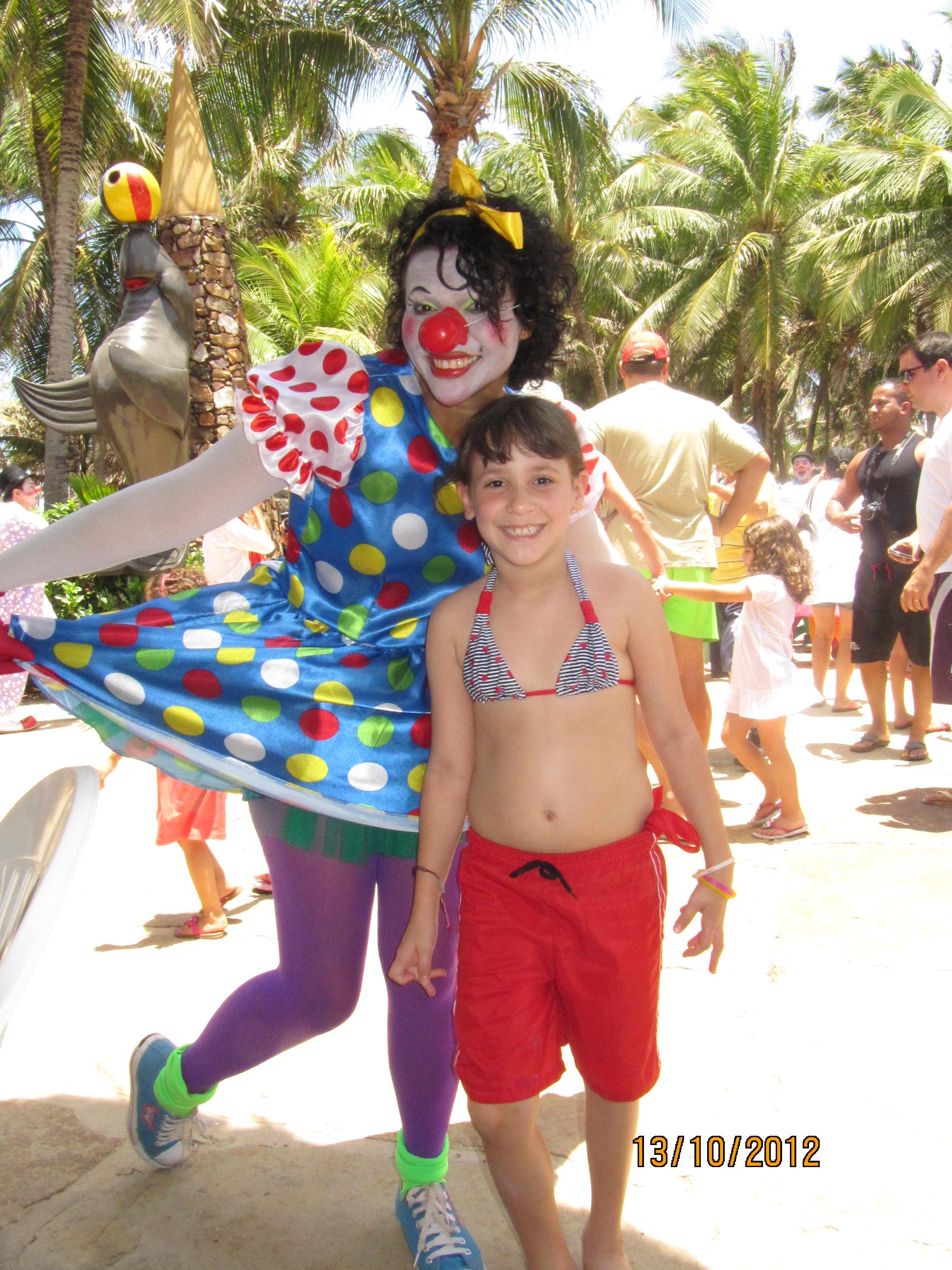 Alegria logo na entrada do Beach Park
