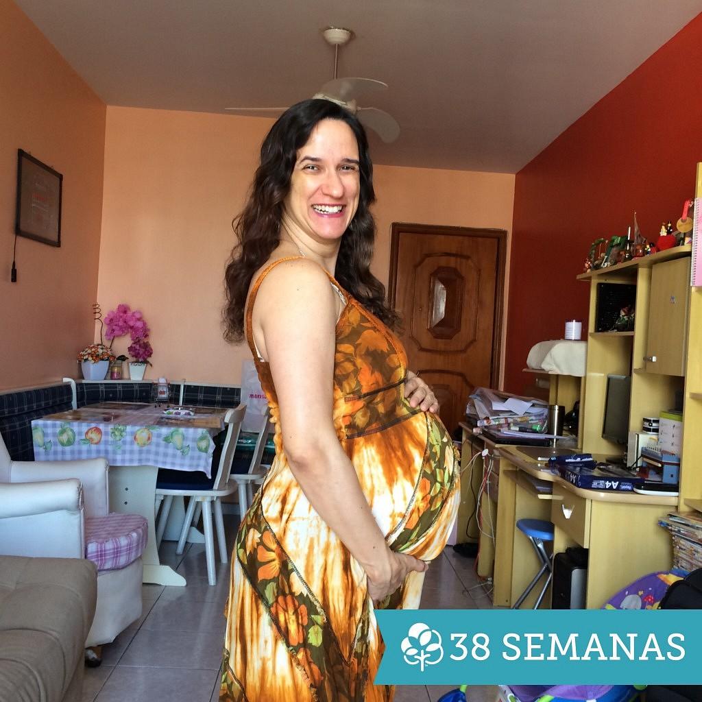 38 semanas de gravidez