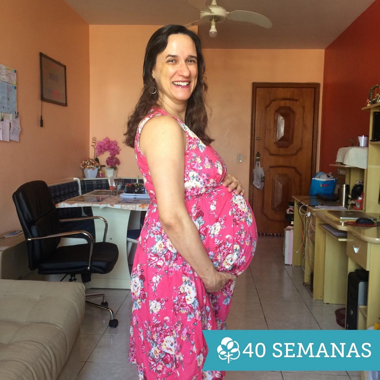 40 semanas de gravidez