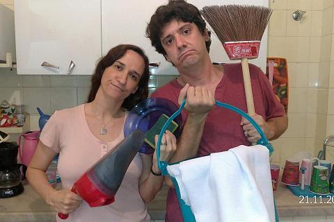 dividir as tarefas domésticas