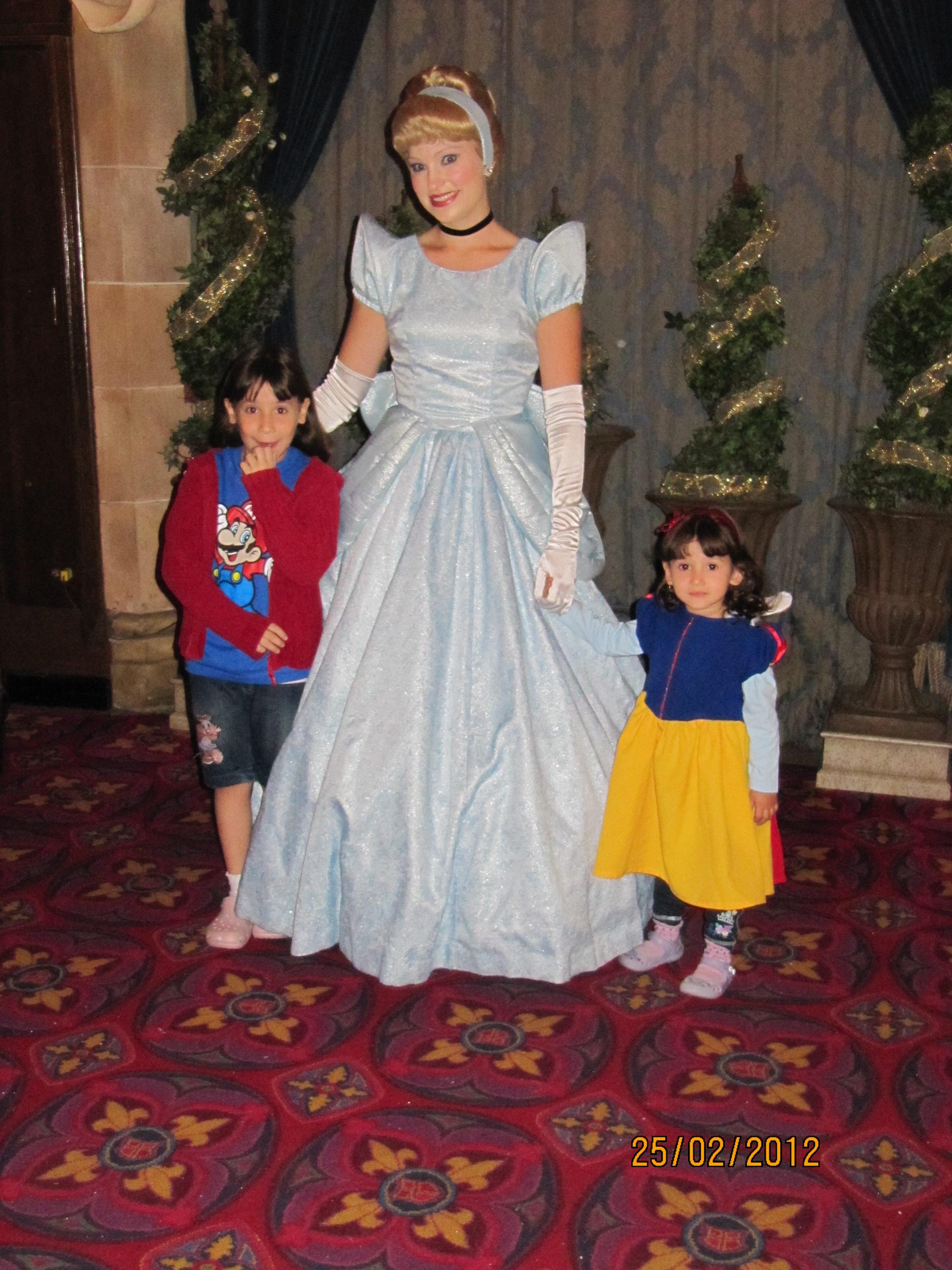 As princesinhas e a princesa