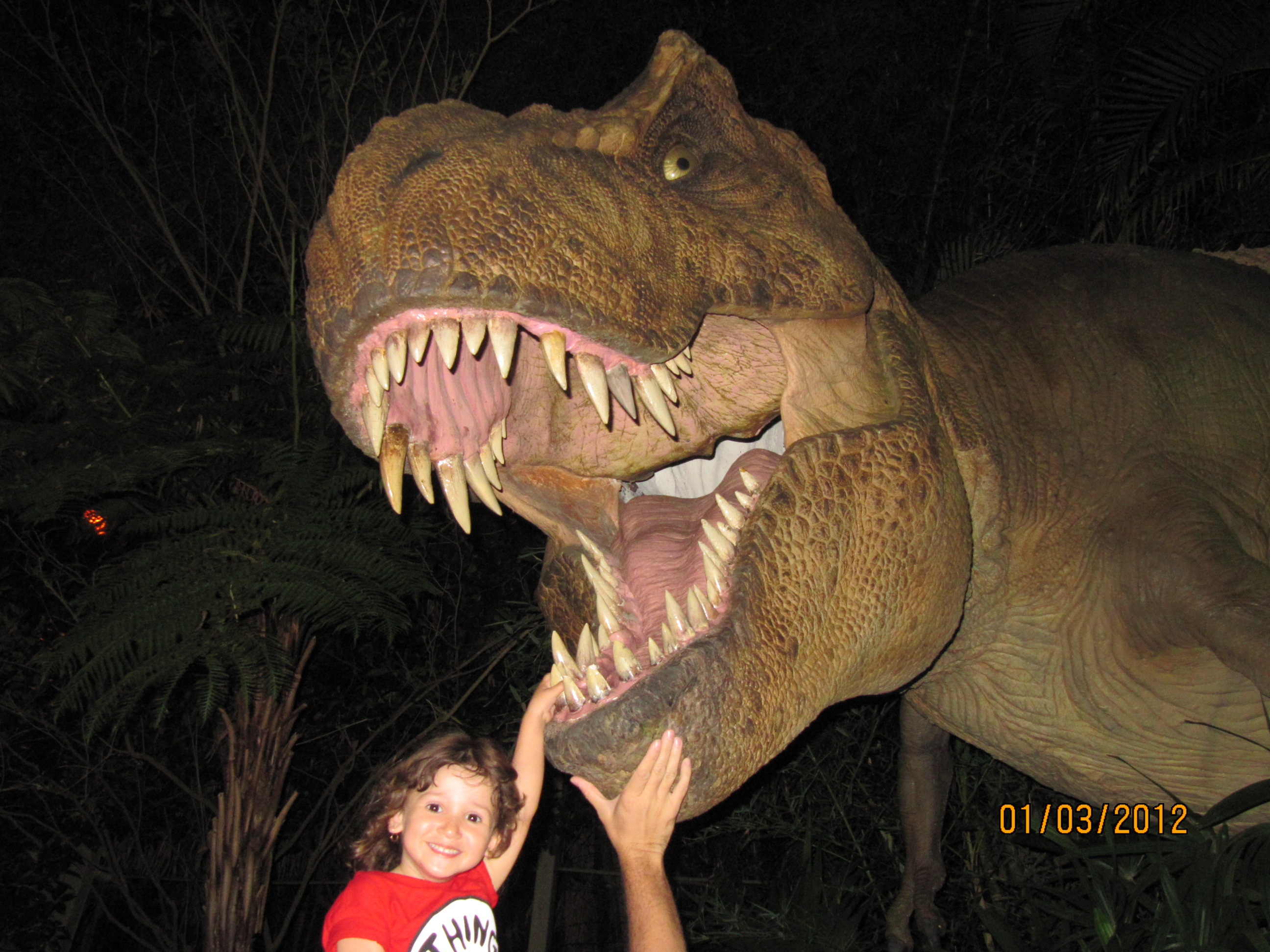 Dentista de dinossauro