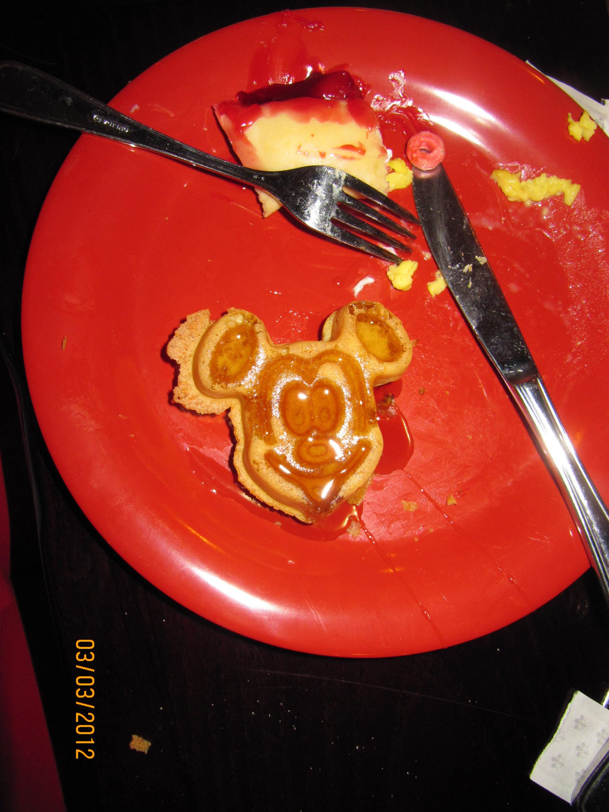 Café da manhã no Animal Kingdom