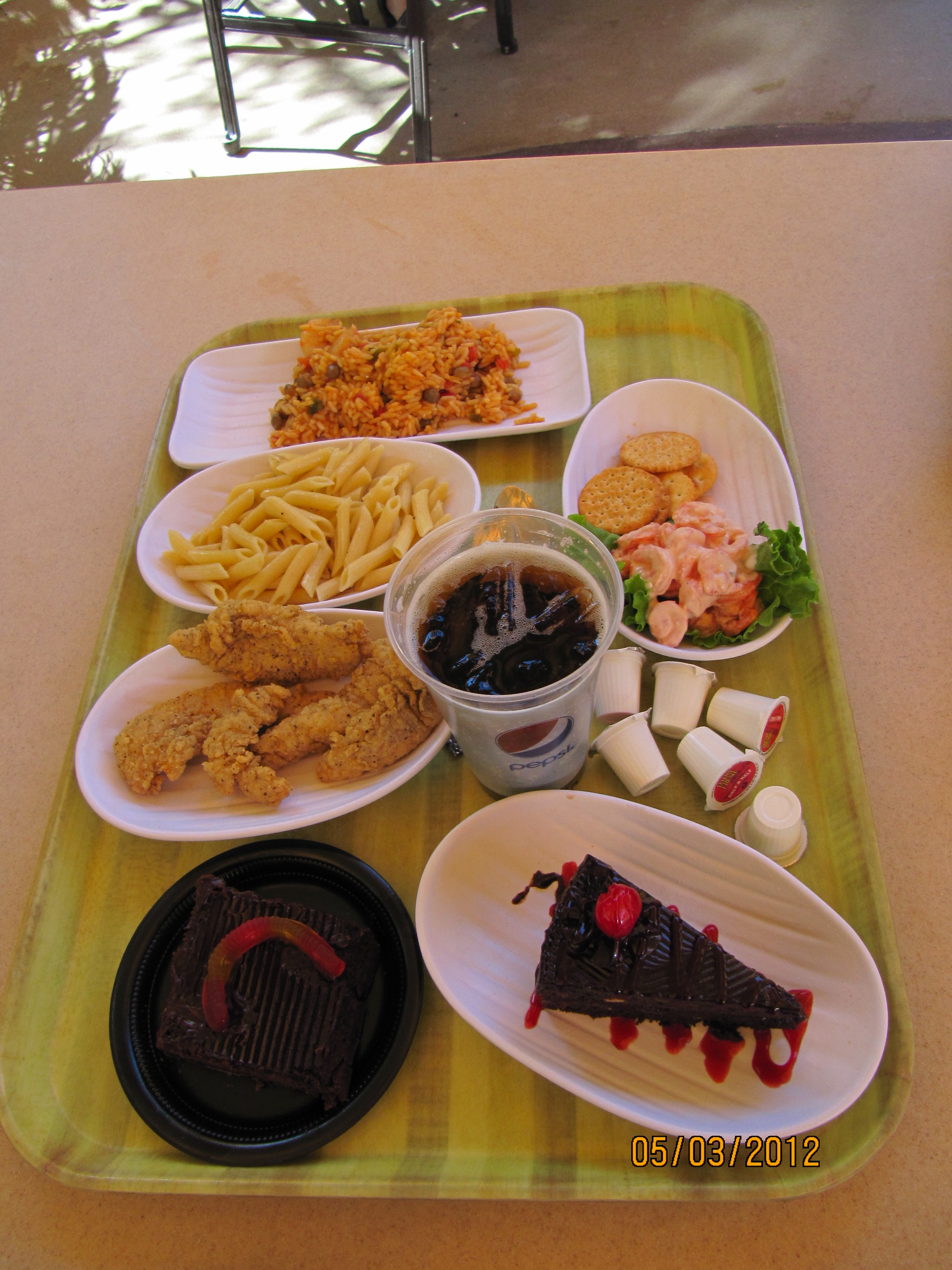 Discovery Cove - almoço