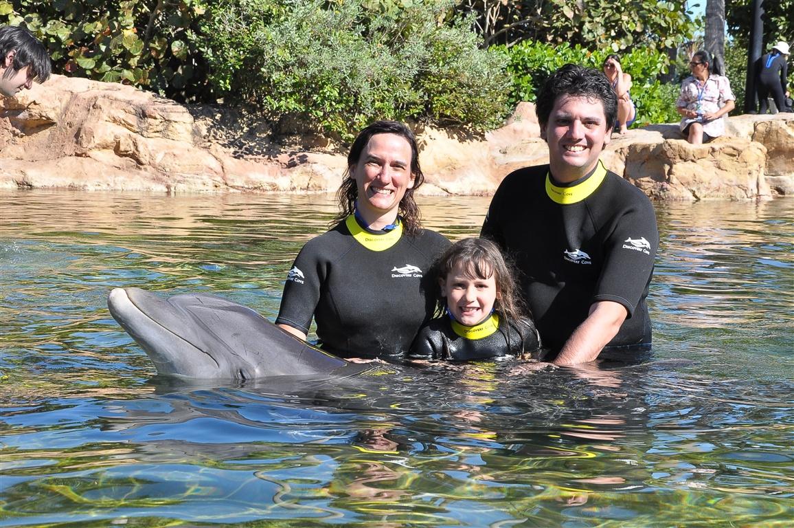 Nós e o golfinho fofinho