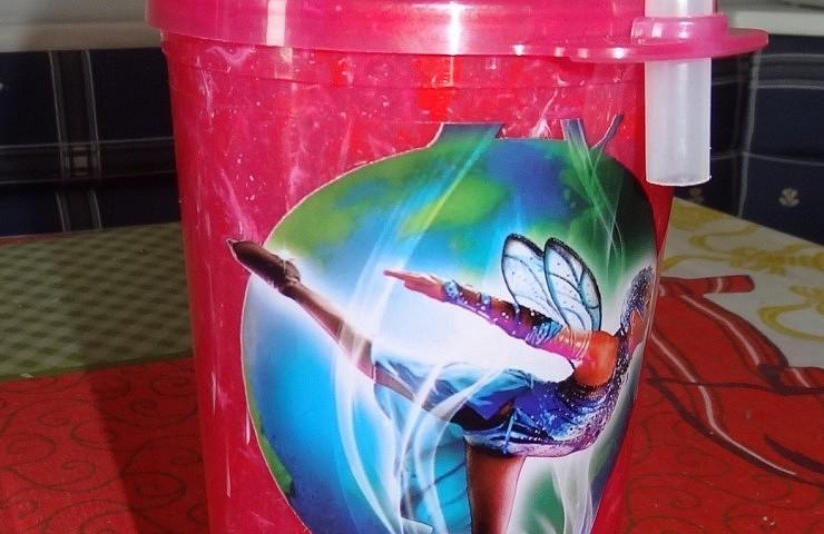 Copo de refrigerante comprado no Busch Gardens
